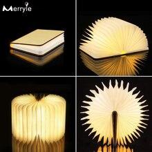 5 цветов usb зарядки светодиодный Ночной свет Творческие деревянные