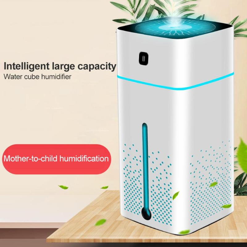 1000ml Large Capacity Air Humidifier USB Ultrasonic Humidifier Aromatherapy Essential Oil Aroma Diffuser Air Purifier For Home