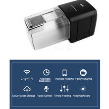 Intelligent Wifi APP Fish Feeder Auto Smart Control Fish Tank Automatic Feeding Device Timing Feed Aquarium Accessories
