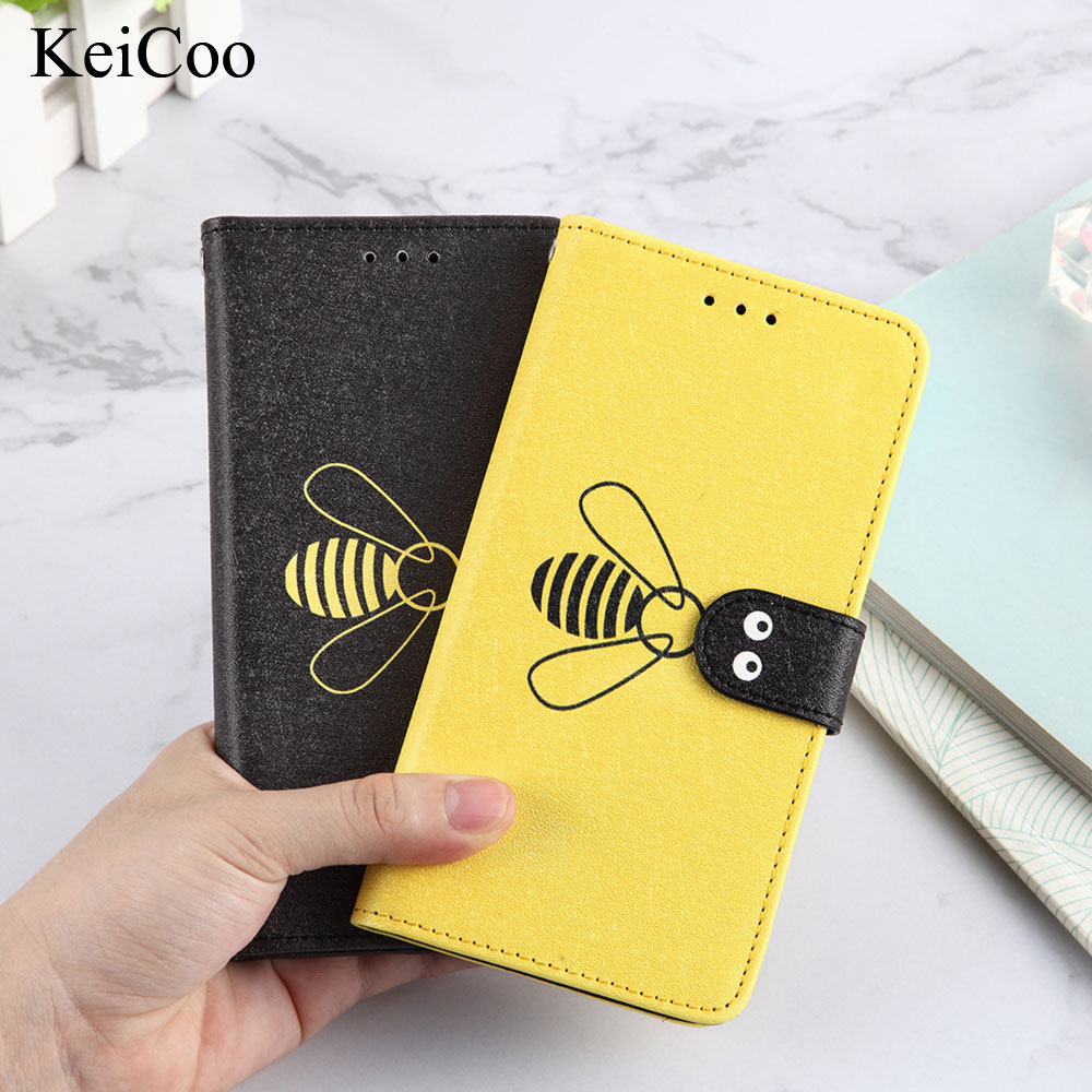 Leather Flip Cases for <font><b>Xiaomi</b></font> Mi A2 Lite <font><b>Redmi</b></font> 6 <font><b>Pro</b></font> M1805D1ST <font><b>REDMI</b></font> 6A M1804C3DG <font><b>NOTE</b></font> 6 <font><b>7</b></font> <font><b>PRO</b></font> <font><b>128GB</b></font> Bee Phone Cover Book House image