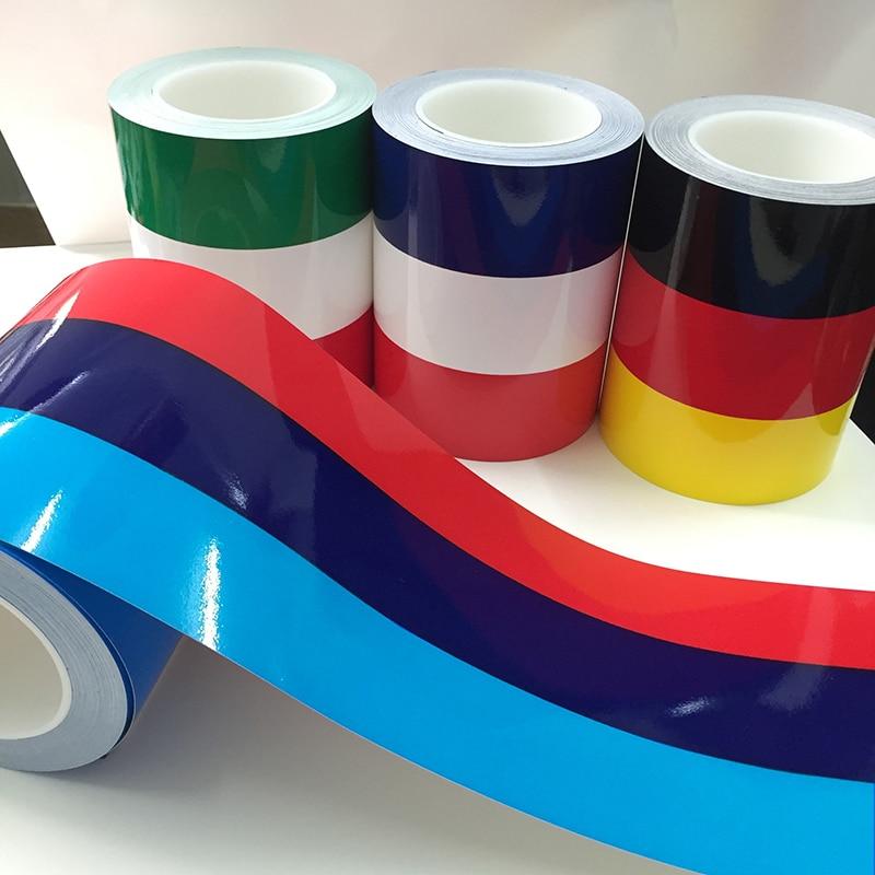 Песонализованная Автомобильная наклейка BMW, цветная, Германия, Италия, французский, Россия, Национальный флаг, наклейка на корпус, Виниловая...