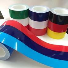 Autocollant de voiture personnalisé bmwcolor allemagne italie français russie drapeau National autocollant corps vinyle décalque voiture style autocollants