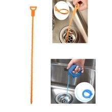 1 sztuk spustowy środek do czyszczenia zlewu łazienka Unclog zlew wanna szczotka wężyk do usuwania włosów Cleaner sprzątanie domu szczotki narzędzia