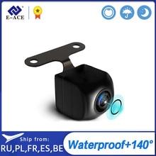 E ACE 1080P HD Digital resistente al agua de señal de 2,5 MM Jack de la visión nocturna de la Cámara de Vista trasera con 6/10m de Cable para 4G/3G Dual de la lente del coche DVR