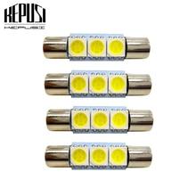 4x Festoon led Car light 28mm 29mm Interior C5W C10W Door Dome Reading Lamp 12V Vanity Mirror Sun Visor Lights Bulb