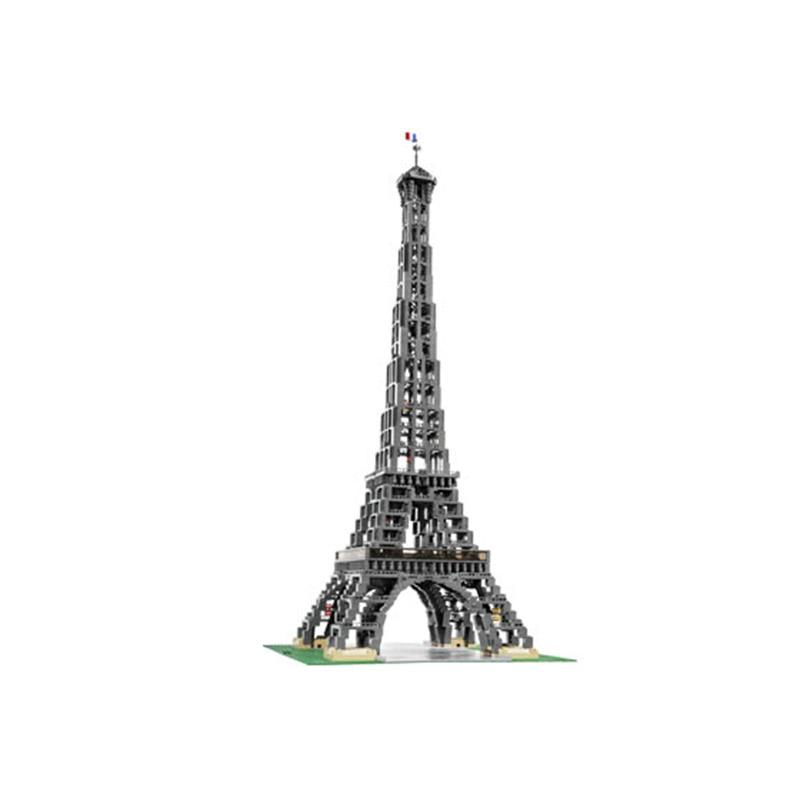 30009 stadt Berühmte Architektur Paris Bausteine Eiffelturm Modell Bricks Geburtstag Kompatibel 10181 3478 stücke Spielzeug - 4