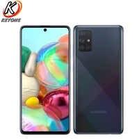 "Nuevo Samsung Galaxy A51 A515F-DSN 6,5 ""6GB RAM 128GB ROM teléfono móvil cuatro cámaras traseras Android 4000mAh Dual SIM teléfono inteligente"