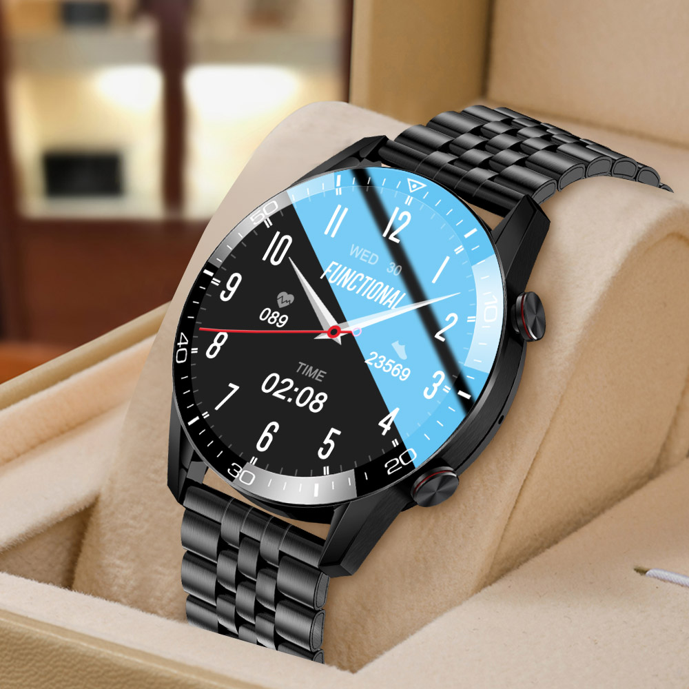 TK2 8 Smart Watch For Men Bluetooth Call IP68 Waterproof Blood Pressure Heart Rate Monitor New Innrech Market.com