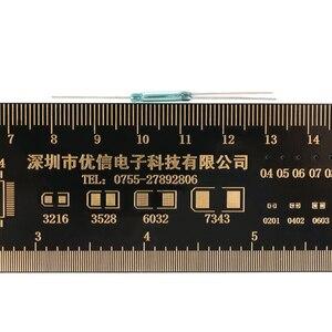 Image 4 - 10 chiếc Reed Switch 3 pin Công Tắc Từ Thường Mở và Thường Đóng Chuyển Đổi 2.5X14MM 3pin