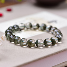 Drop Shipping Natural Crystal Beads BraceletS Lucky Amulet Sprinkle Stone Bracelet For Women Men Gift fine lavender purple natural crystal bracelets fox pendant evil spirits help marriage lucky for women girl gift bracelet jewelry