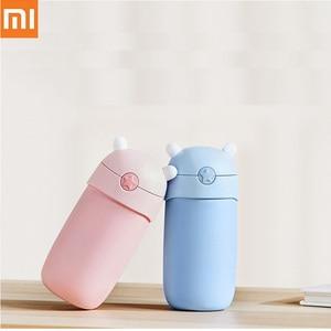 Image 1 - Xiaomi Mitu ילדי בידוד ואקום תרמוס מים כוס בקבוק נירוסטה אוניית 6 שעות בידוד נייד בטוח כוס