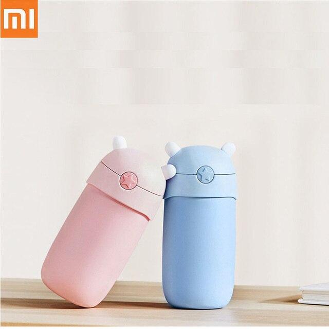 Xiaomi Mitu ילדי בידוד ואקום תרמוס מים כוס בקבוק נירוסטה אוניית 6 שעות בידוד נייד בטוח כוס