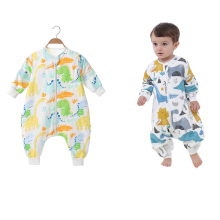 Universal Four Seasons Split Leg Sleeping Sack Bag Breathable Anti-Kick Pajamas for 0-4 years old Kids Newborn Toddler Baby
