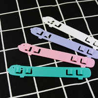 4pcs Children's Face Cover Santi-leakproof Adjustable Extension Cord Anti-slip Buckle Mask Anti-league Assisted Artifact Mask