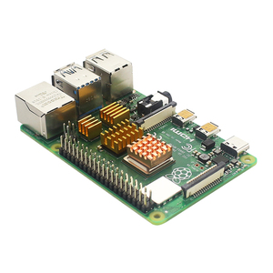 Image 3 - פטל Pi 4 דגם B Starter kit 2/4G RAM 2.4G & 5G WiFi Bluetooth 5.0 מיקרו HDMI Calbe + אקריליק מקרה + אספקת חשמל עבור Pi 4