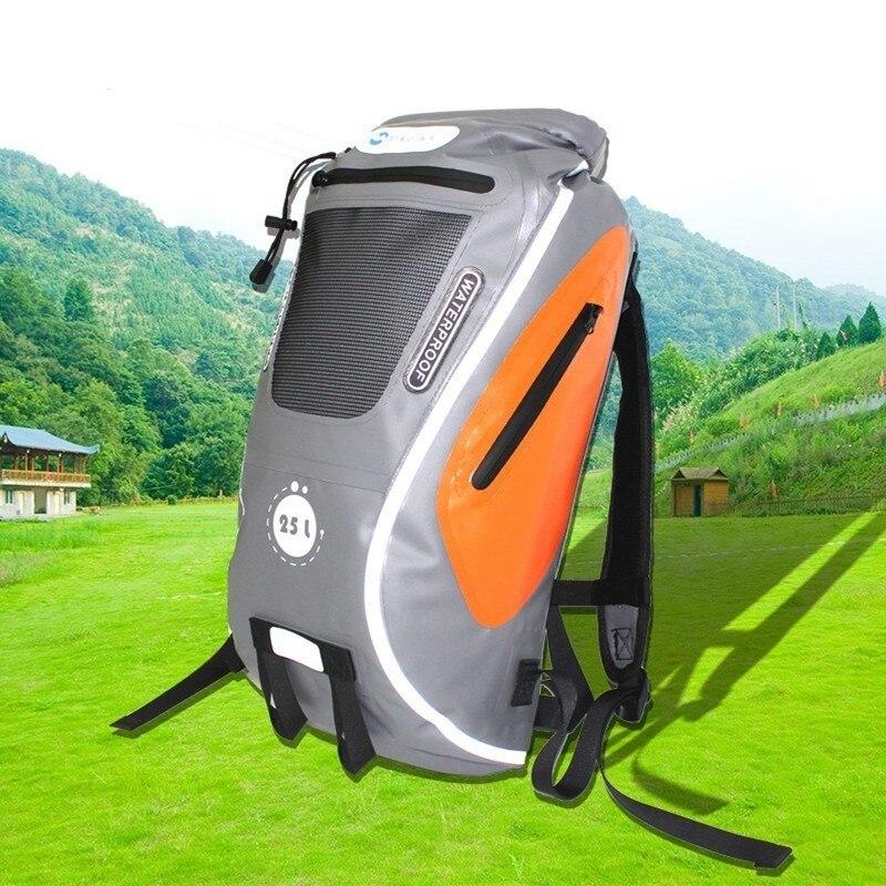 25L Pro для спасательных операций на воде Водонепроницаемый рюкзак Светоотражающие 0,5 мм 500D ПВХ плавательный Водонепроницаемый сухой мешок на открытом воздухе Рыбалка восходящий мешок рафтинг унисекс|Сумки для речного туризма|   | АлиЭкспресс