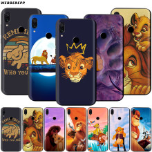 The Lion King Case untuk Xiao Mi Merah Mi Note 8 Mi 3 6 8 9 A1 A2 A3 8A 6X9 T CC9 Lite Se Pro Max F1 10(China)