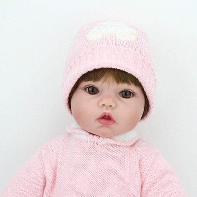 NPK Lol poupées Surprise jouets pour filles enfants bébé poupée jouets Silicone poupées renaître bébé Silicone Inteiro corps entier Bjd - 3