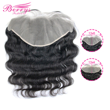 13x6 Transparent Lace Frontal Body Wave 13x6 & 13x4 Lace Frontal Brazilian Virgin Hair With Baby Hair Bleached Knots Preplucked
