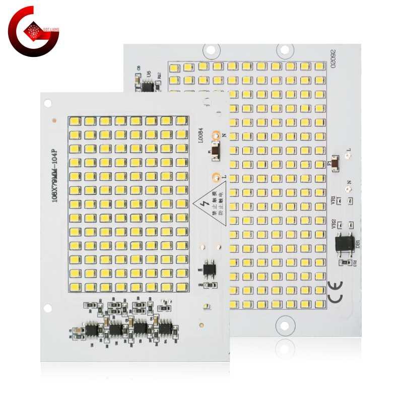 سمد 2835 LED رقاقة 100 واط 50 واط 30 واط 20 واط 10 واط كشاف ضوء الخرز التيار المتناوب 220 فولت-240 فولت Led مصباح الكاشف لتقوم بها بنفسك للإضاءة في الهواء الطلق الأضواء