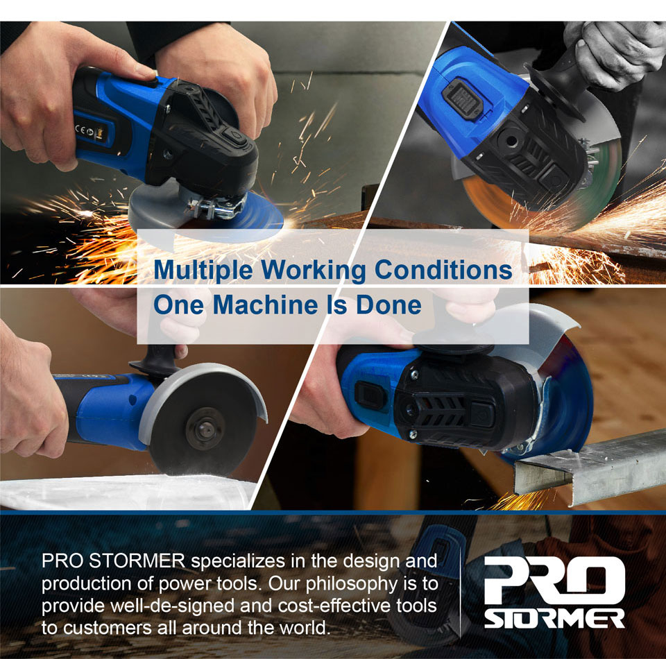 PROSTORMER Multiple Working Conditions