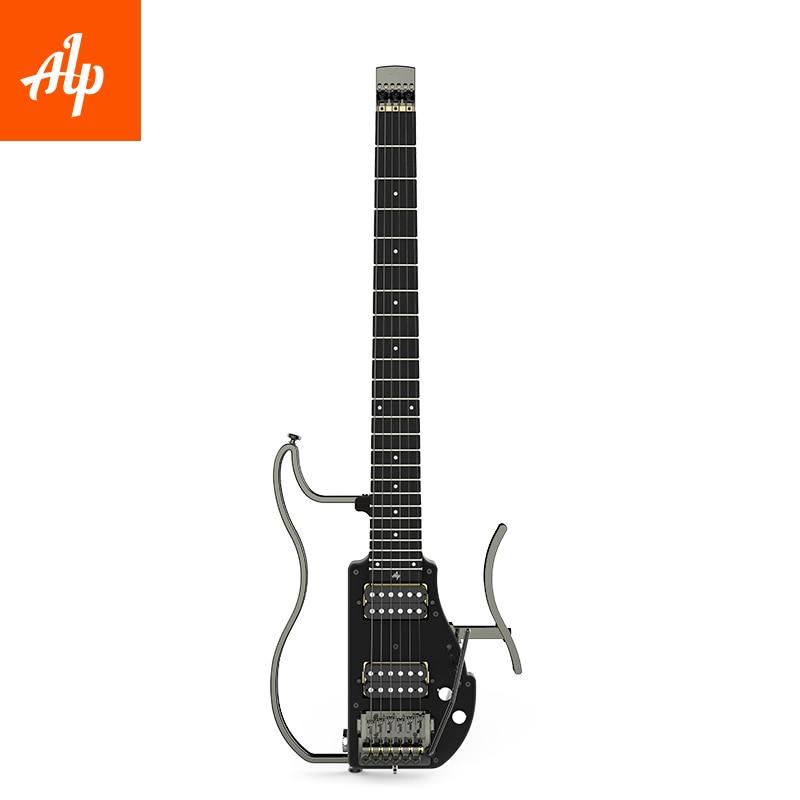ALP ADS-201H  Headless Travel Electric Guitar Double Humbucker
