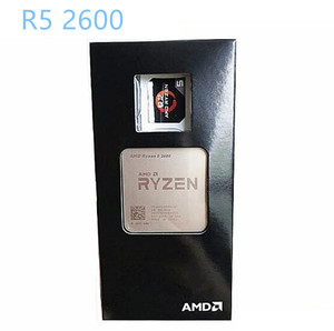 AMD Ryzen 5 2600 R5 2600 GHz Six-Core Twelve-Thread CPU Processor Socket AM4