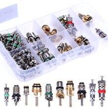 100Pcs/box R134A Auto A/C Core Ventile Automotive Klimaanlage Sortiment Kit
