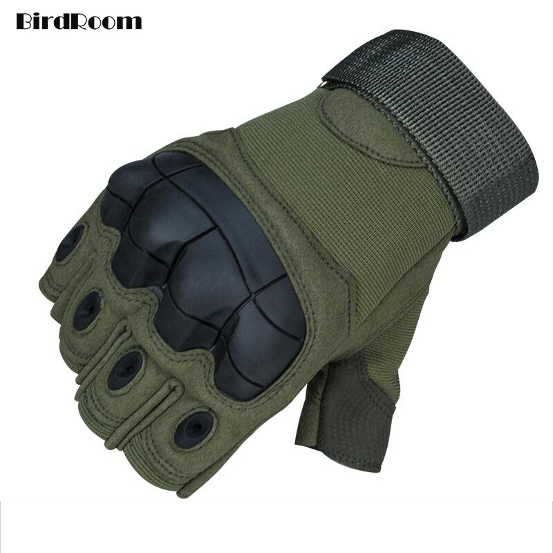 Tactical Gloves Men Army Training Protective Gloves Outdoor Cycling Motobike Hands Covers High Quality Wear-resisting Non-slip