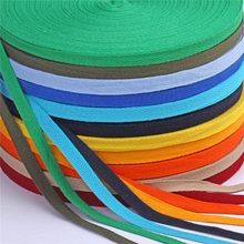 50yards/roll 10mm Chevron Cotton Ribbon Webbing Herring Bonebinding Tape Lace Trimming for Packing Accessory DIY