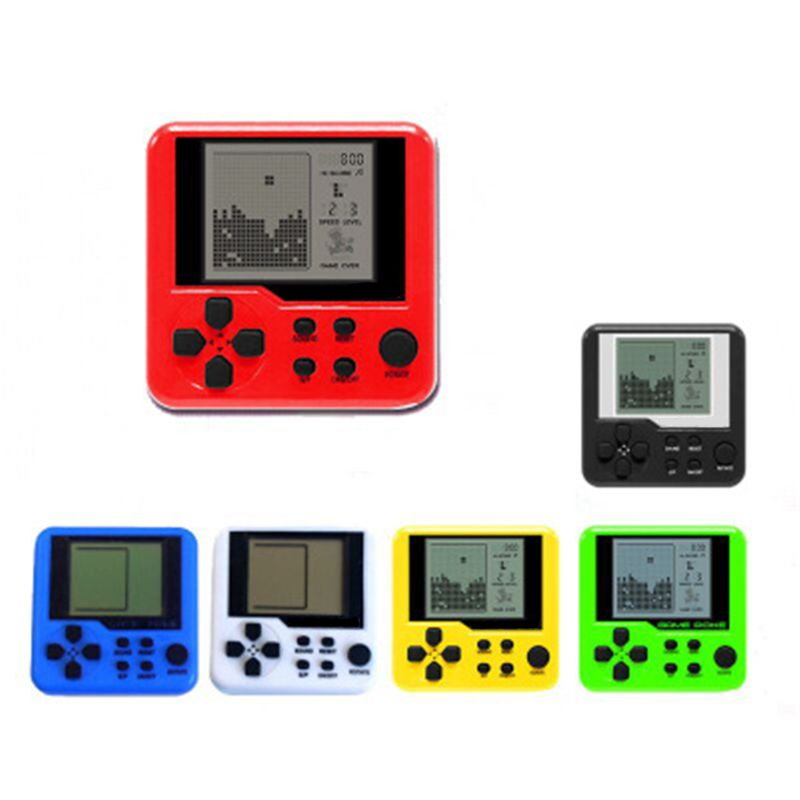 New Children Tetris Handheld Game Console Portable Mini Game Handheld Toys Handh 19QF