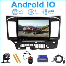 ZLTOOPAI Android 10.0 V1 Pro DSP For Mitsubishi Lancer 10 2007 2018 Car Radio Multimedia Video Player GPS Navigation RDS 2din