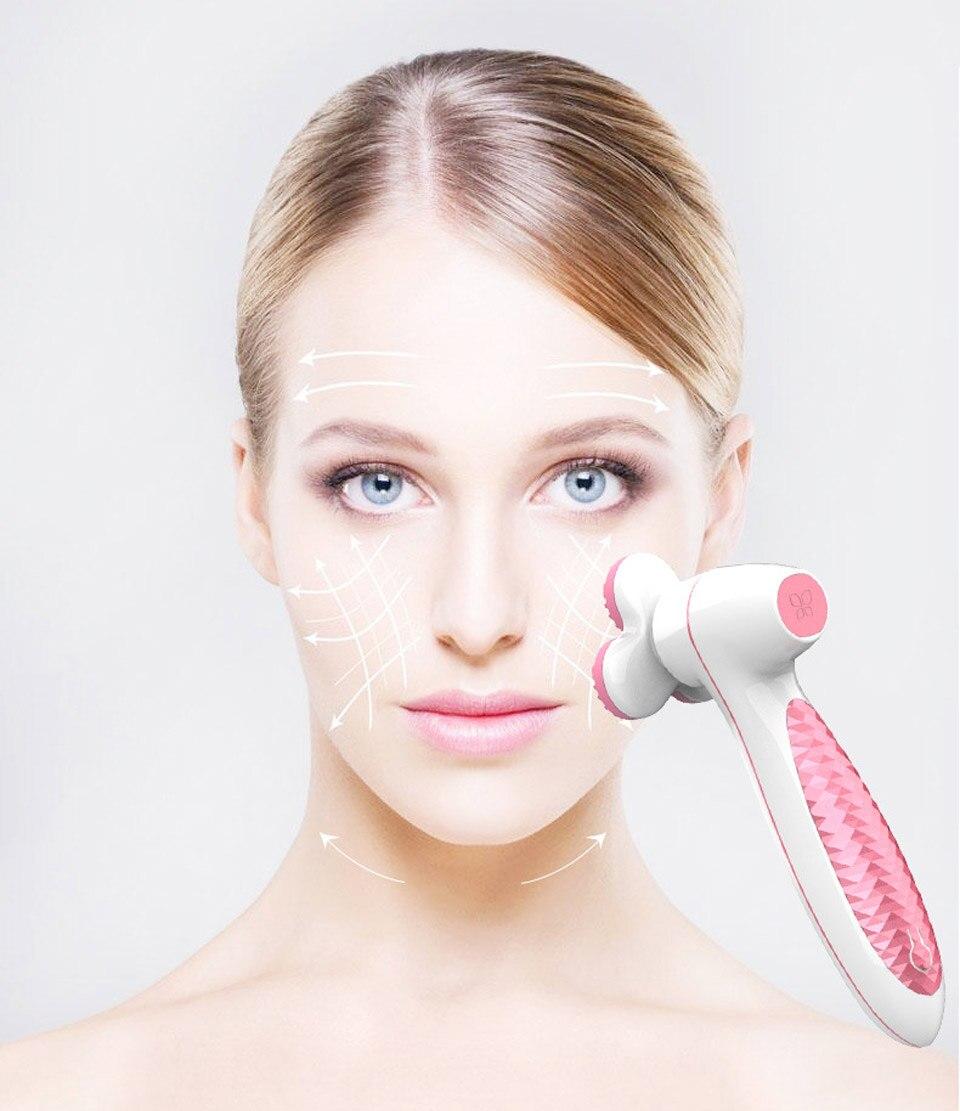 3d lavagem rosto cuidados com a máquina mais limpa