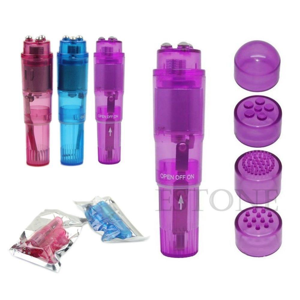 1PC Supre Mini Full Body Massager Relieve Stress Travel Pocket Rocket 3Colors New