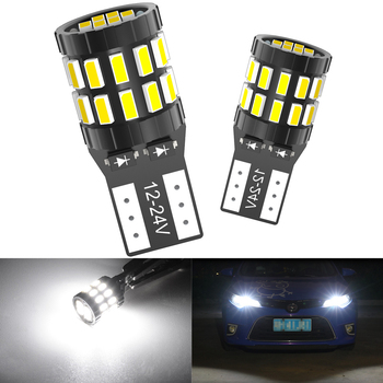 2x W5W T10 Led Bulbs 2825 Car Parking LED Side Marker Light 12V For BMW E46 E39 E90 E60 E36 F30 F10 E30 E34 X5 E53 M F20 X3 E87 image