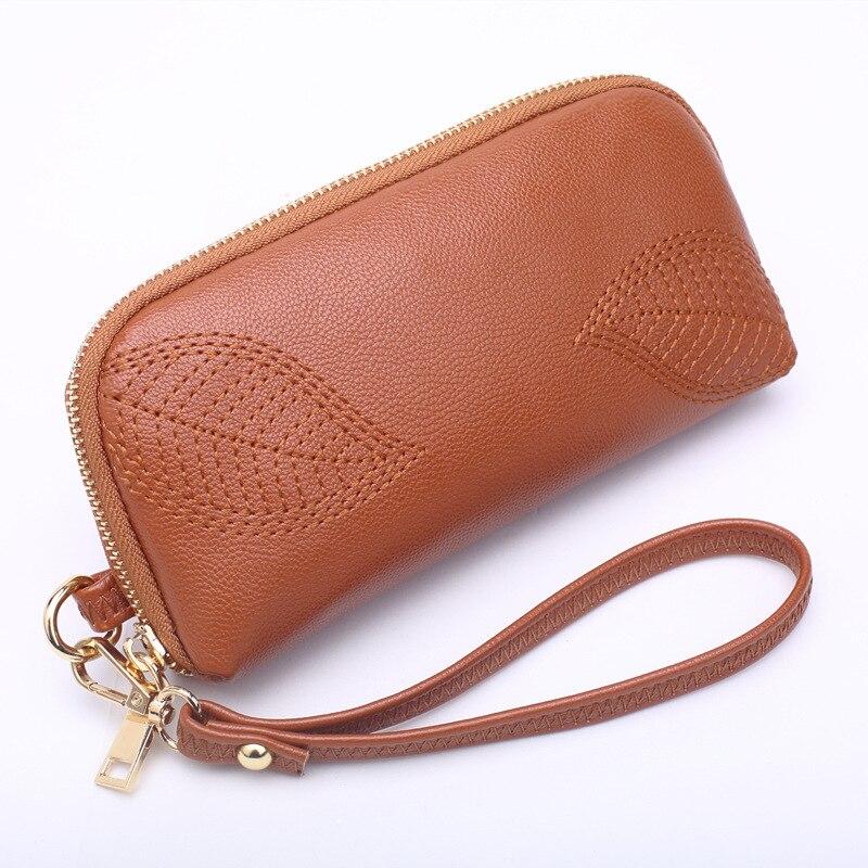 2019 New Style Purse Women's Large-Volume Embroidery Handbag Fashion Zipper Mobile Phone Bag Multi-color Selectable H928