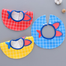 Children's style cartoon bib stereo waterproof bib baby saliva towel baby 360 degree bib стоимость
