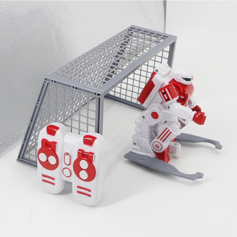 2.4g rc robô de futebol batalha inteligente robô de brinquedo para crianças robôs controle remoto & accessories1 - 5