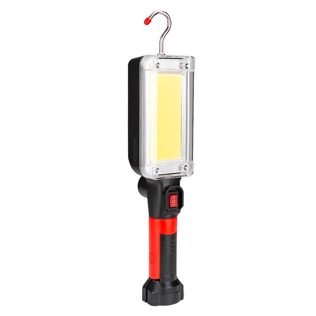 LED Work Light Powerful Portable Lantern Hook Camping Lamp COB USB Rechargeable Flashlight Torch Waterproof