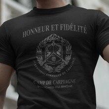Camiseta Legion Etrangere, Fremdenlegion, Ejército Francés, 1er, Regimiento de Catron