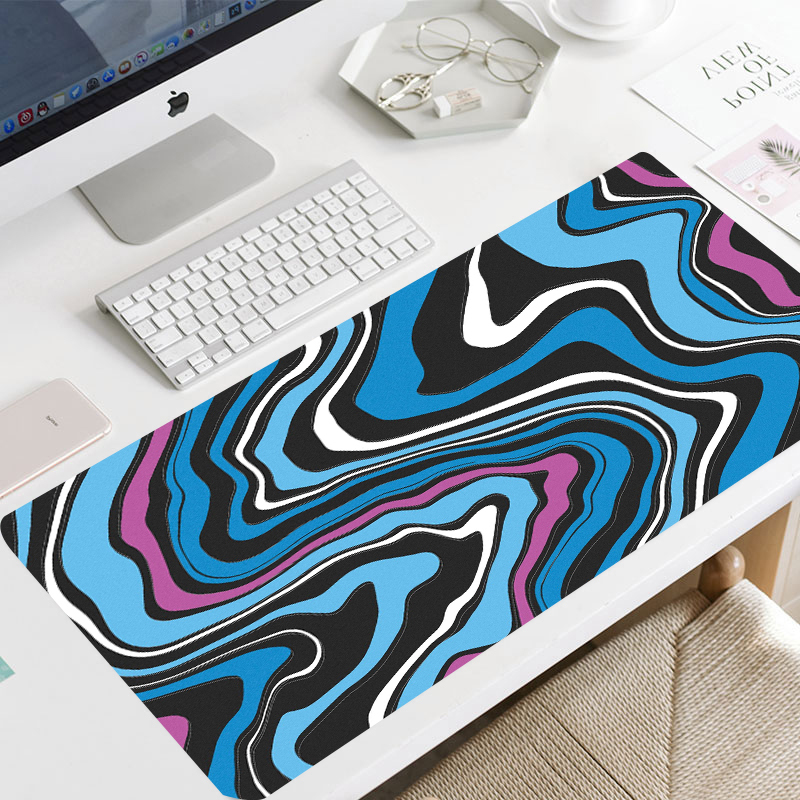 Permalink to Layered liquid mouse kit computer game mouse pad Abstract large 900×400 mouse pad player XXL Maus carpet computer desktop pad