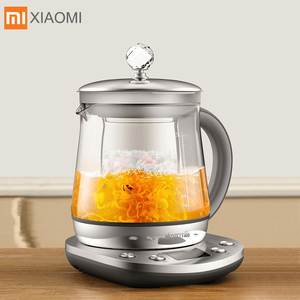 Xiaomi Deerma Stainless Steel Electric Kettle 1.5L Health Pot Multifunction Health Pot Kettle From Xiaomi Youpin(China)