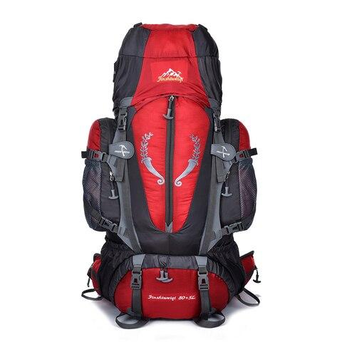 quente grande 85l ao ar livre mochila de viagem unisex multi purpose escalada mochilas caminhadas