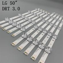 (New Original)10 PCS/set LED strip for LG 50LF6300 50LB6300 INNOTEK DRT 3.0 50 inch A B 6916L-1735A 1736A 6916L-1979A 1978A