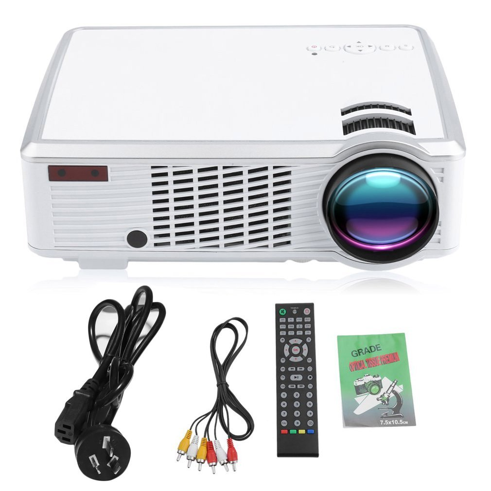WIFI Wireless Full HD 1080P LED Projector USB AV HDMI Video Projector Home Theater Cinema Multimedia Player for Android|Home Theatre System| |  - title=