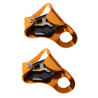 2Pack Climbing Hand Ascender for Arborist Tree Rock Climbing Rigging Caving   Suit for Right Hand and Left Hand|Climbing Accessories| |  -