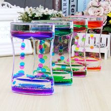 Groceries creative large beautiful waist two-color oil drip water leak oil leak hourglass timer gift factory direct sales youda new creative design diamond shape oil hourglass stress reliever oil sand timer best birthday gift oil hourglass
