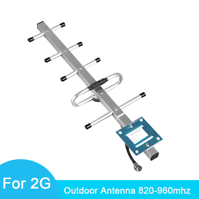 Accessories Yagi Outdoor Antenna Connect To Signal Repeater Suitable For GSM 900 Cellular Signal Amplifier Outdoor Antenna