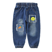 Girl Jeans Pants Trousers Spring Baby-Boys Cartoon Casual for Children Autumn Denim