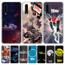 Back To The Future Phone Case for Huawei P40 P30 P20 Mate 30 20 10 Pro